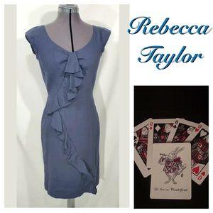 New Rebecca Taylor Femme Work Sheath Dress 4